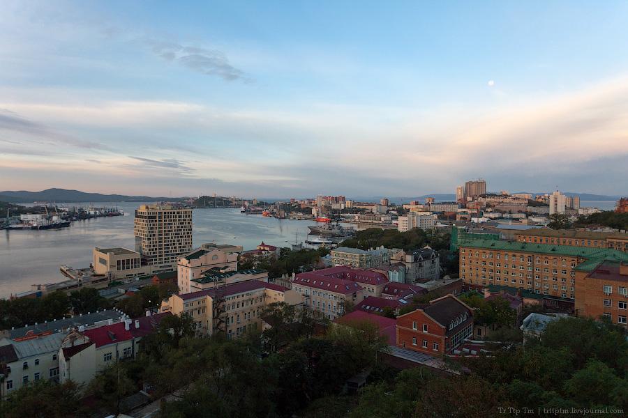 10. У далёкого Японского моря. Владивосток и остров Русский.