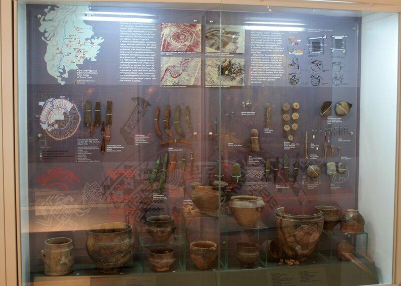 Стенды музея Аркаима (19.09.2013)