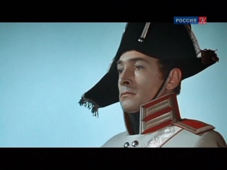 Вячеслав Тихонов в роли Андрея Болконского.