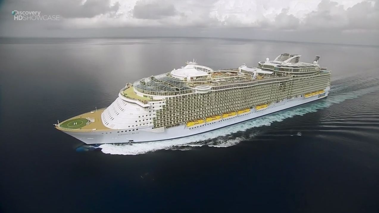 Oasis of The Seas The Largest Cruise Ship in The World