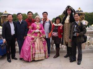 Делегация китайских профсоюзов в России. Сентябрь 2011г.