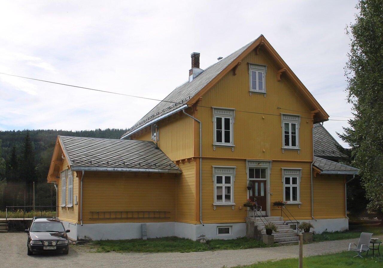 Станция железной дороги Рёрусбанен (Rørosbanen)