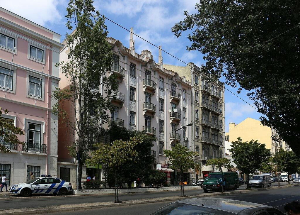 Lisbon. Rua de Palma street)
