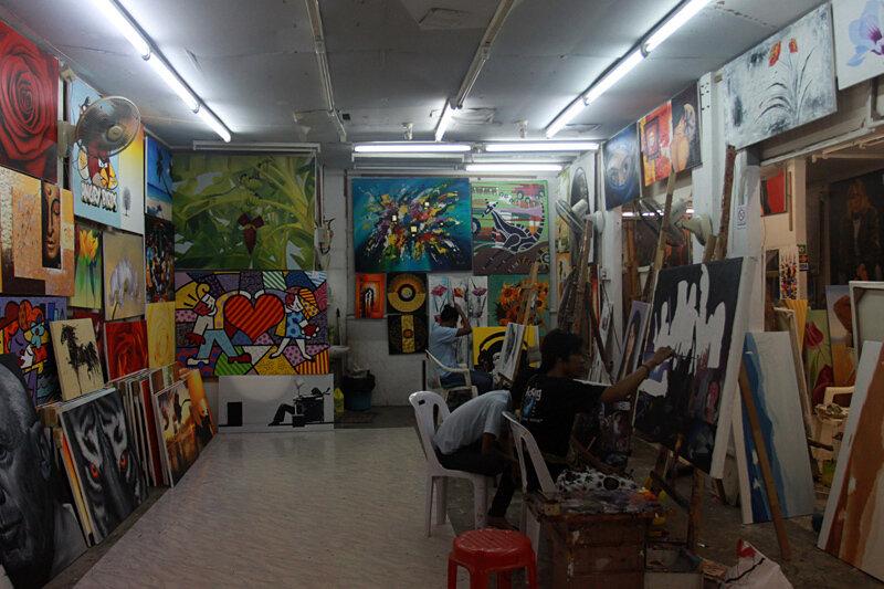 Тайская художественная школа