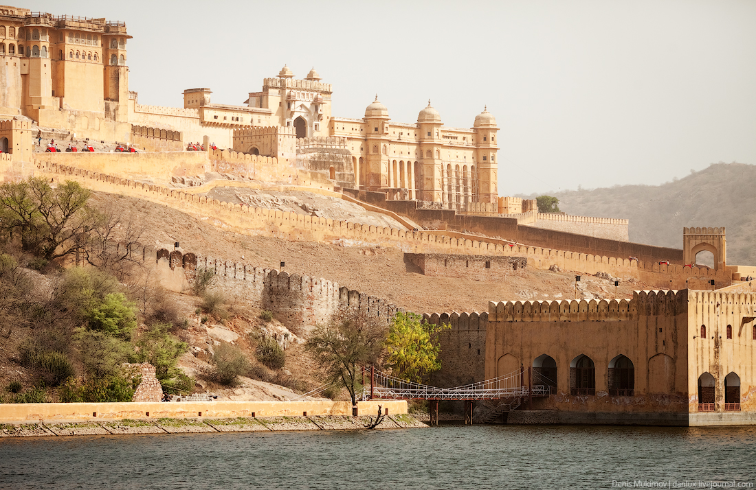 Джайпур. Дворцы и крепости.