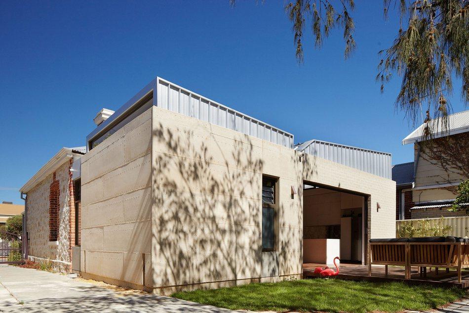 Одноэтажный домик в спальном районе Западной Австралии
