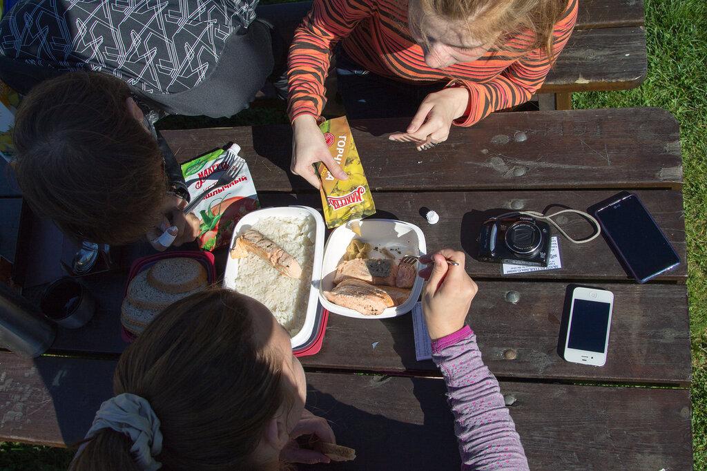 Обед в Норвегии
