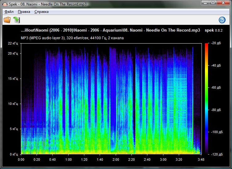 Скачать программу спектроанализатор