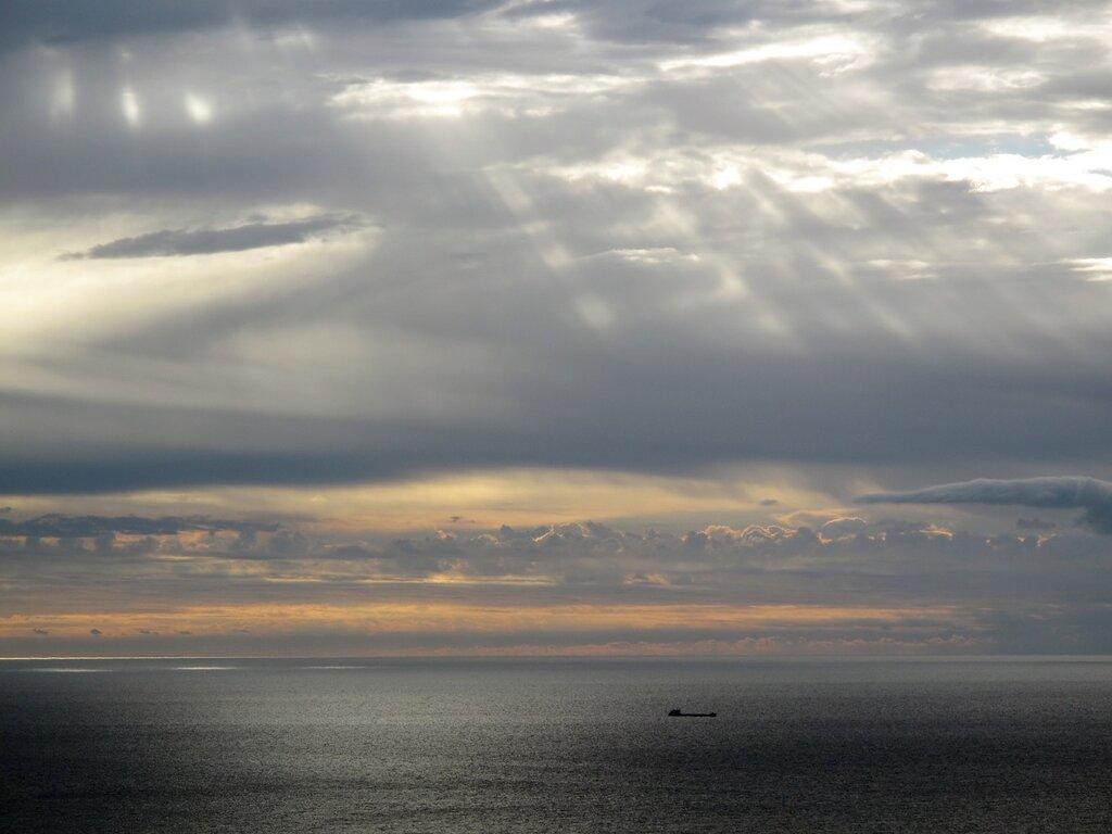 Алупка, небеса, восход