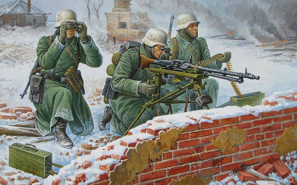 Немецкие пулеметчики (Олег Федоров)
