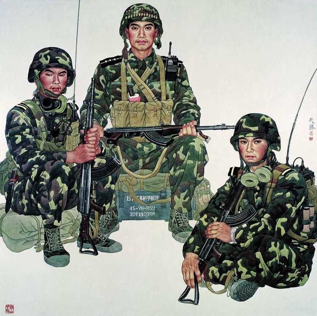 Солдаты (Wang Tiansheng)