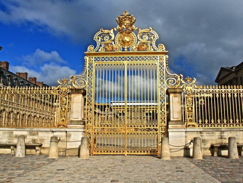 Золотые ворота Версаля.