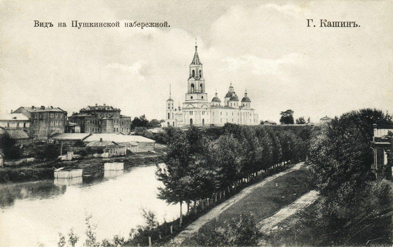 Вид на Пушкинской набережной