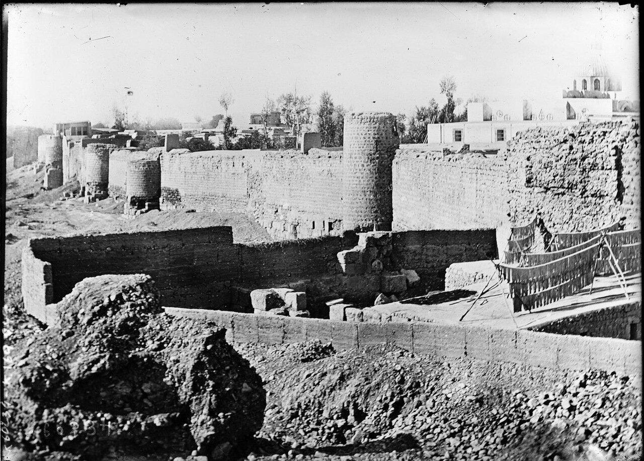 Стены Дамаска. 1920