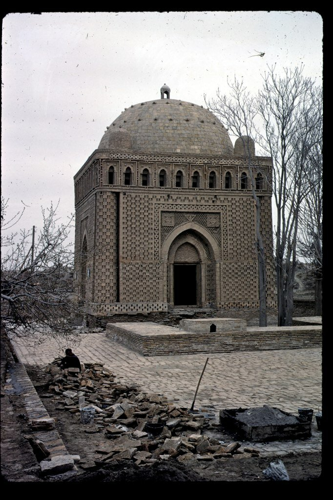 Samanid Mausoleum in 1966