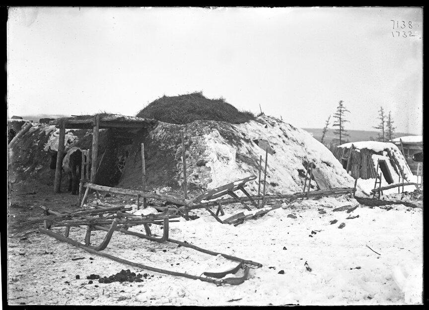 Якутское стойбище возле Верхоянска. 1902