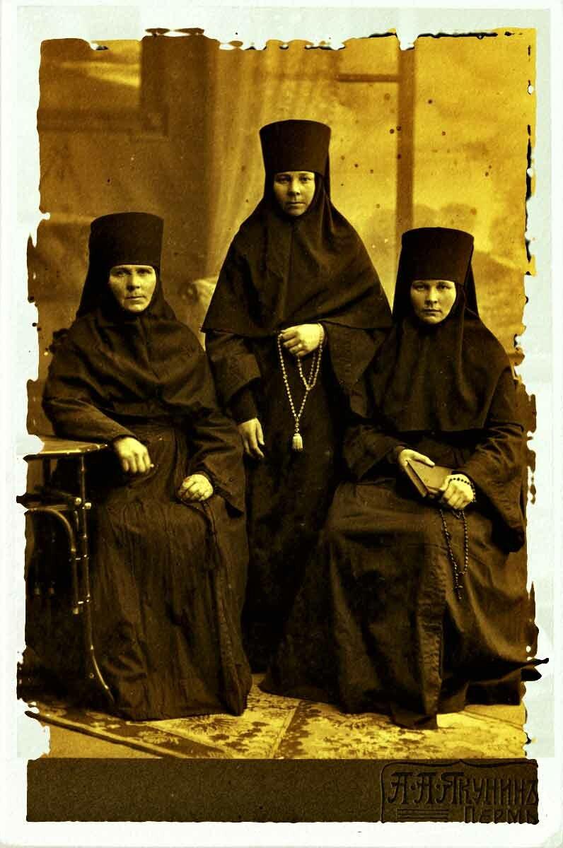 Пермские монахини