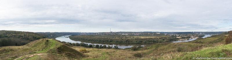 Панорама древнего Алексина