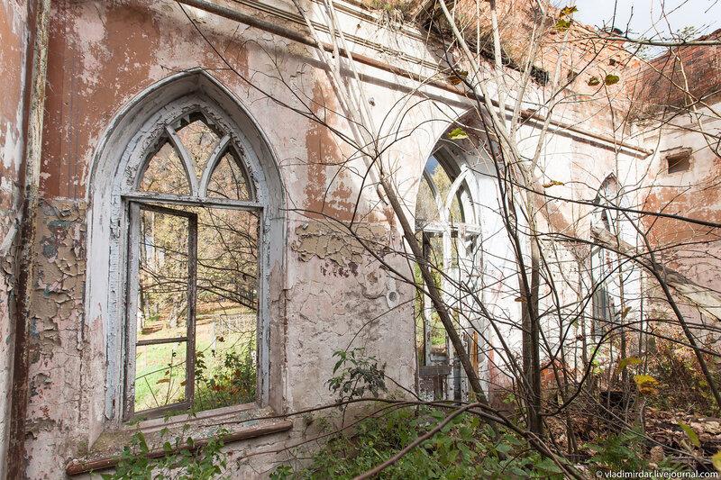 Надвратный зал замка в Колосово