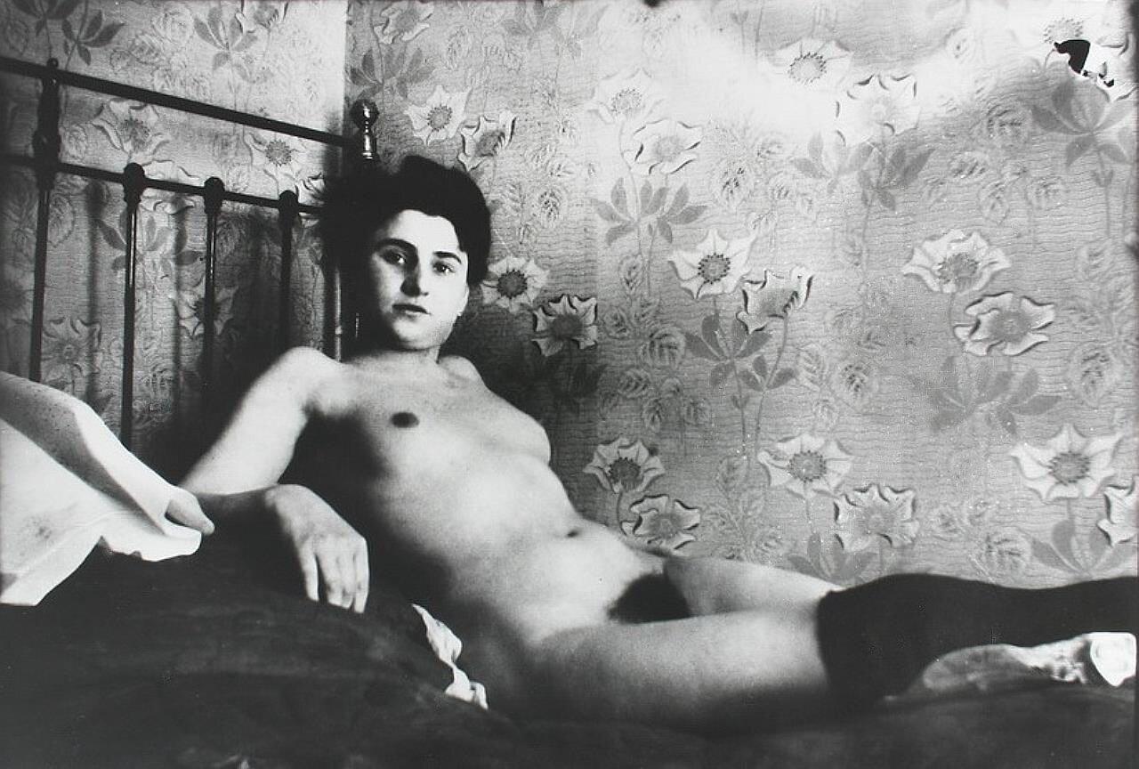 Художественная фотография, НЮ, ок. 1890, Брейтнер, Георг Хендрик(1857-1923);  Голландия, стиль амстердамского импрессионизма