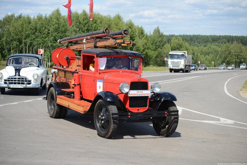 ПМГ-1 на базе ГАЗ-АА 1933 года