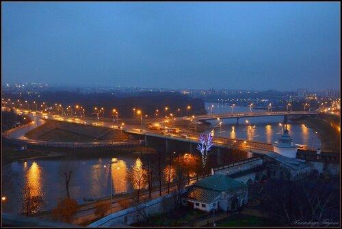 Ночные огни Ярославля...