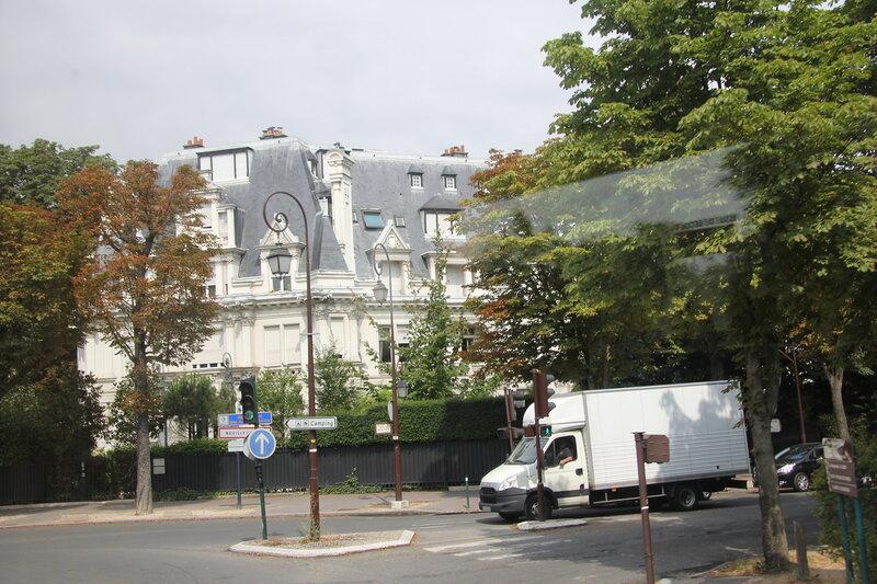 Париж из окна автобуса!