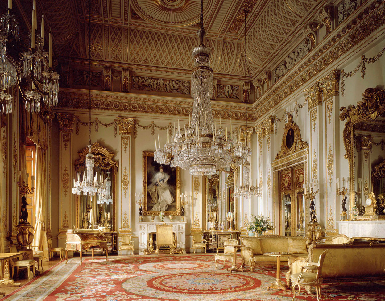 White Drawing Room<br/>The State Rooms, Buckingham Palace <br/><br/>Credit line:The Royal Collection (c) 2009, Her Majesty Queen Elizabeth II <br/>Photographer: Derry Moore<br/><br/>This photograph is issued