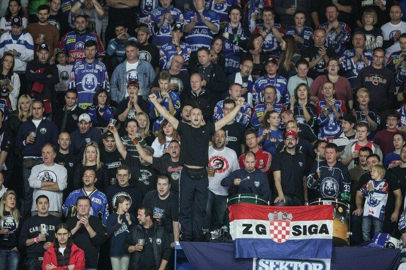 «Медвешчак» vs «Спартак» 2:3 Б чемпионат КХЛ 2013-2014 (Фото)