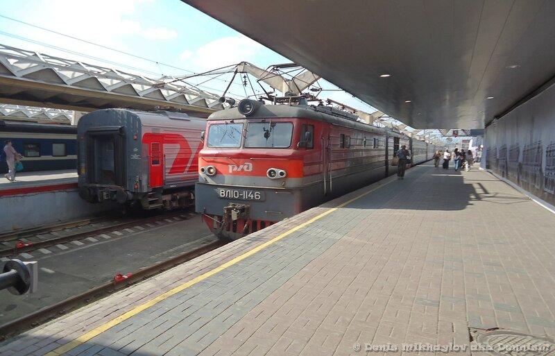Москва, Ленинградский вокзал. 09.08.2013.
