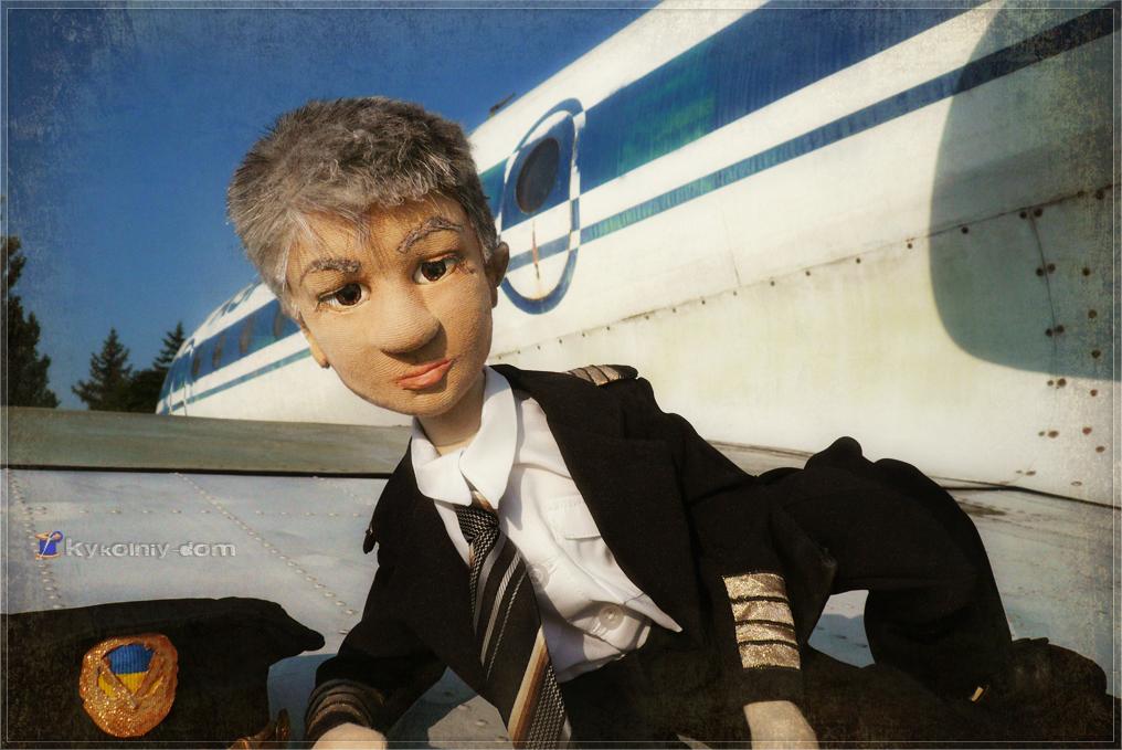 портретная кукла по фото Алексей