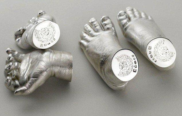 Руки и ноги из серебра в подарок