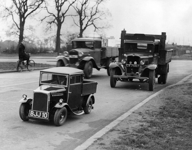 Small Motor Lorry