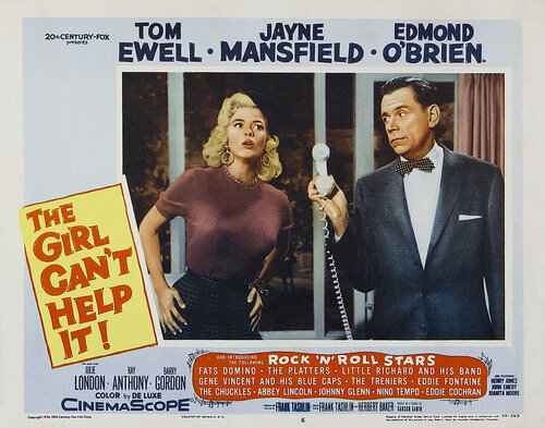 ��� ������� �� ����� ����� / The girl can't help it (1956) DVDRip