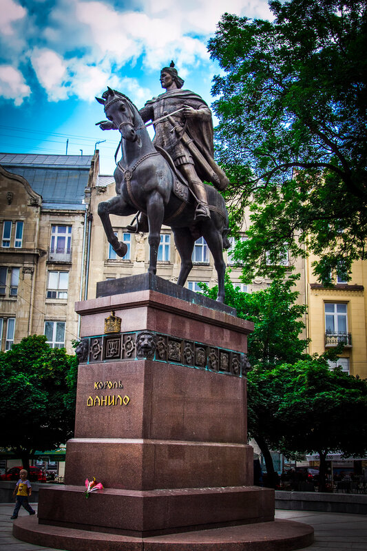 Памятник Королю Даниле