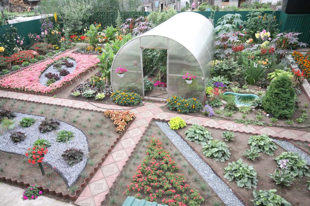 Дизайн сада огорода своими руками картинки
