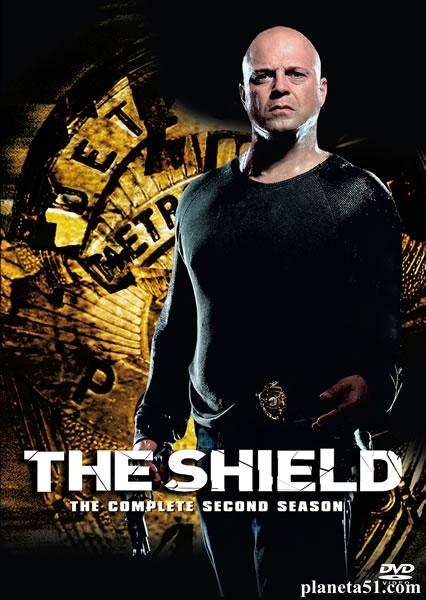 Щит (1-7 сезоны: 88 серий из 88) / The Shield / 2002-2008 / ПМ (СТС) / DVDRip