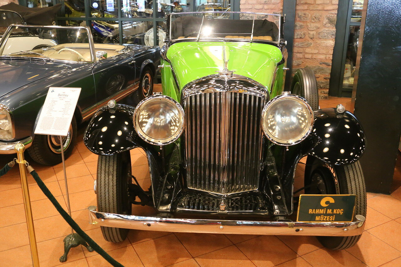 Стамбул. Музей Рахими Коча. Bentley 3.5 litre 1935
