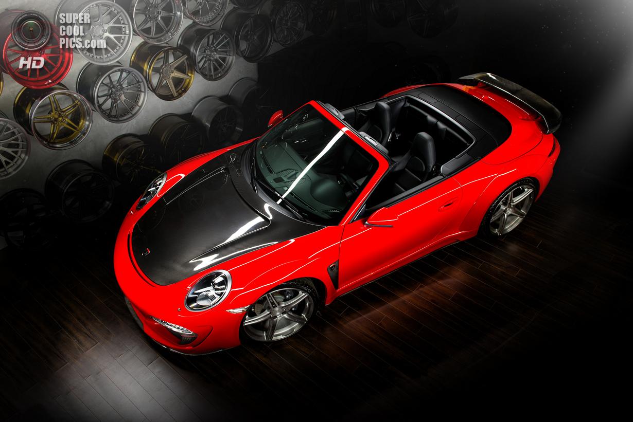 Обновки для кабриолета Porsche 911 от TopCar