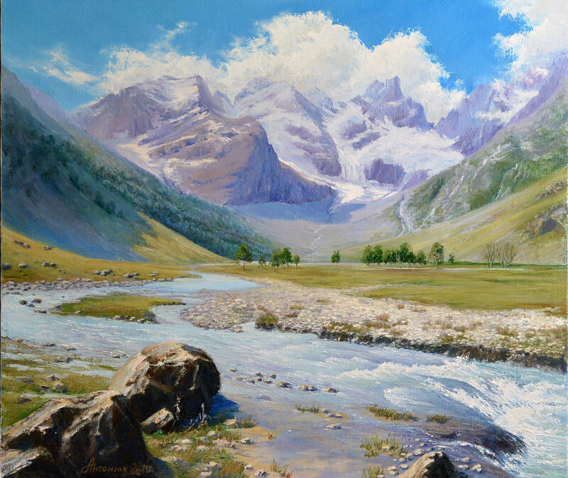 Кавказ. Долина Кичкени-кол
