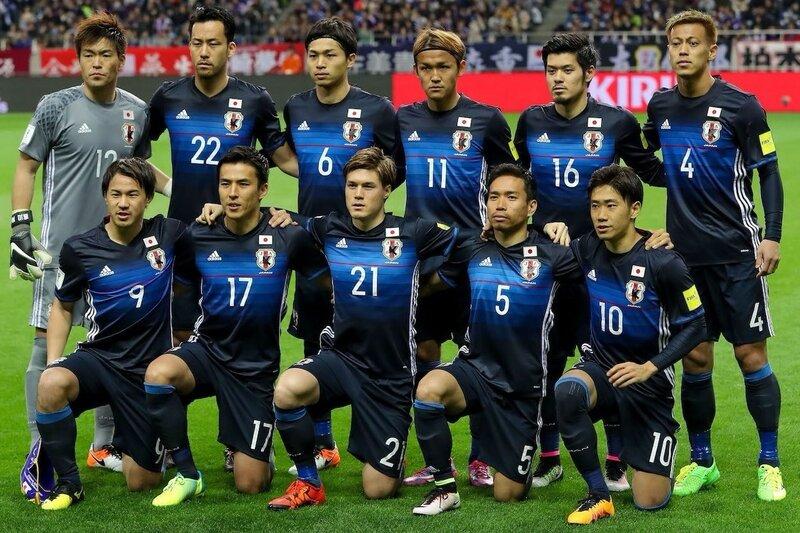 Япония - Сирия 5:0. 29 марта 2016. Отборочный матч Чемпионата Мира 2018