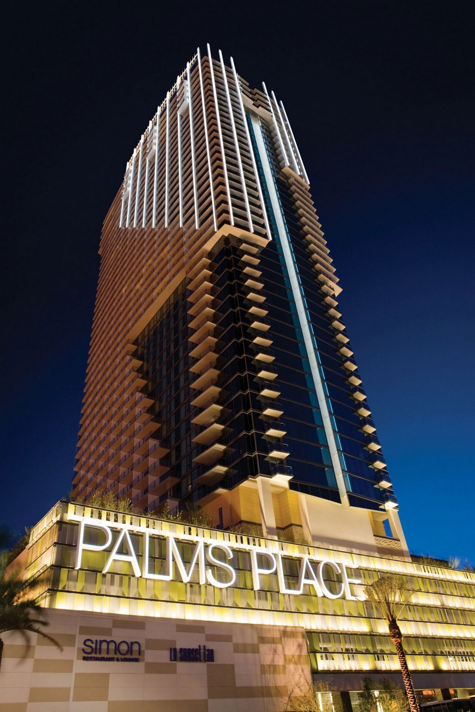 Отель Palms Place Hotel & Spa в Лас-Вегасе