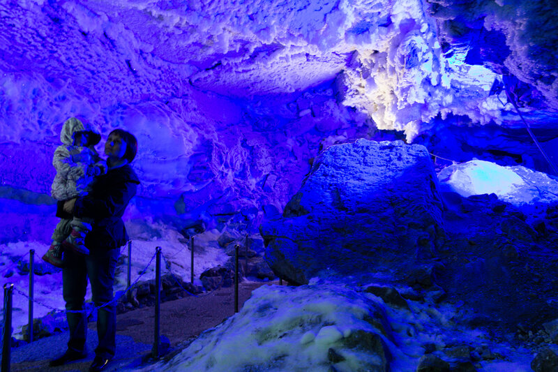 Кунгурские ледяные пещеры