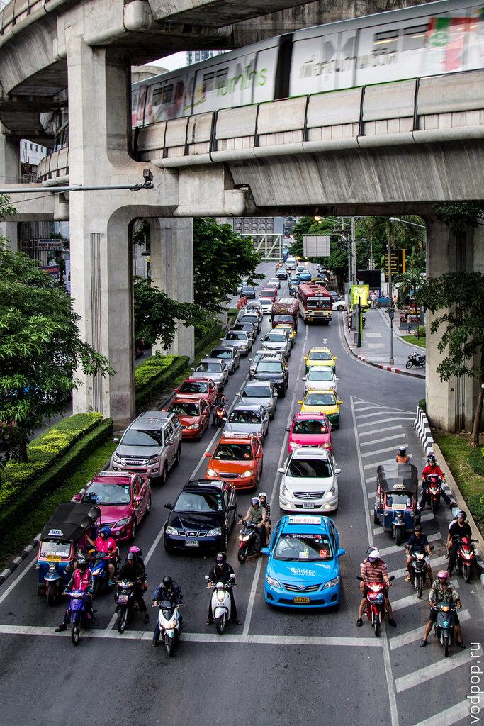 Наземное метро BTS в Бангкоке