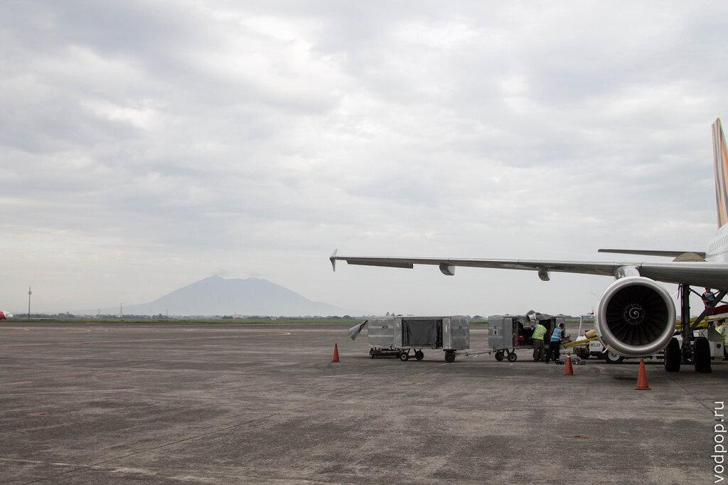 вулкан Араят Филиппины
