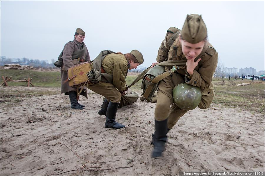 Киев, 1943 год. Наши