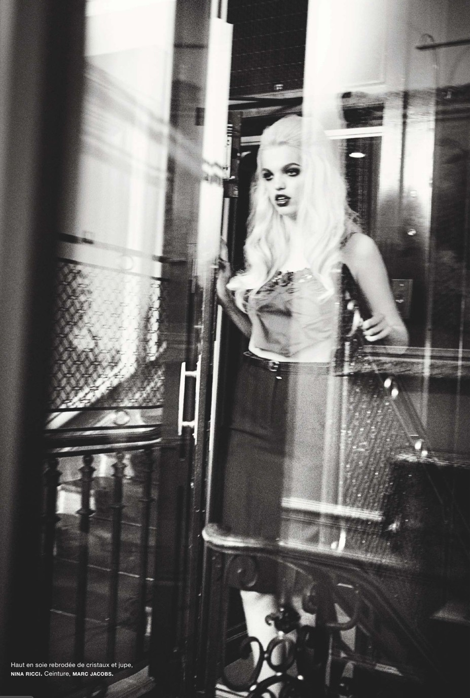 Daphne Groeneveld / Дафна Греневельд, фотограф Ellen Von Unwerth в журнале Numero, август 2013