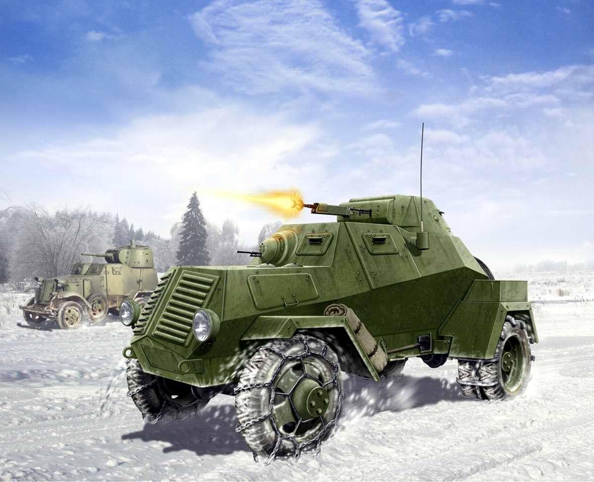 Советский бронеавтомобиль ЛБ-62 (Валерий Петелин)