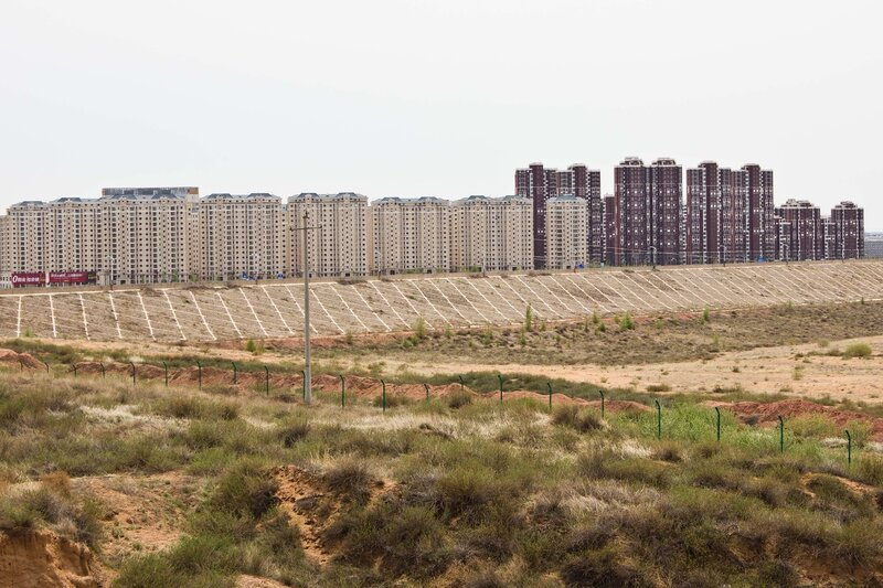 город Ордос, Внутрення Монголия, Китай