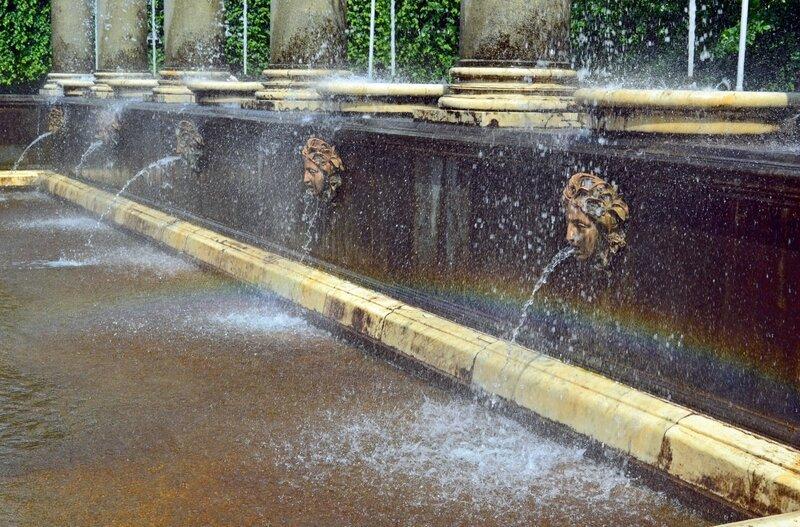 Радуга в Львином фонтане